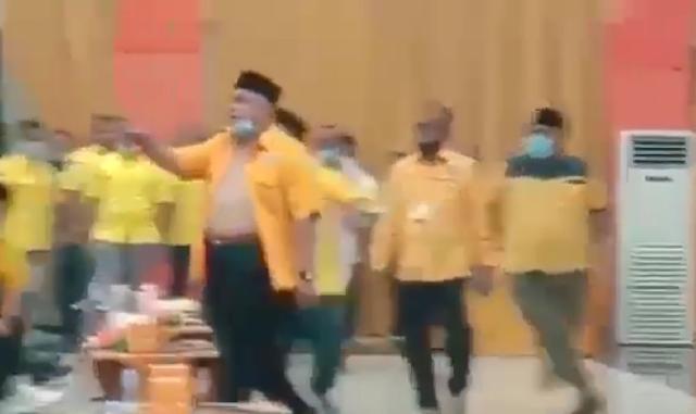 Brutal ! Yopi Arianto Bupati Inhu Diduga Terlibat Pengeroyokan Sekretaris Ormas Partai Golkar