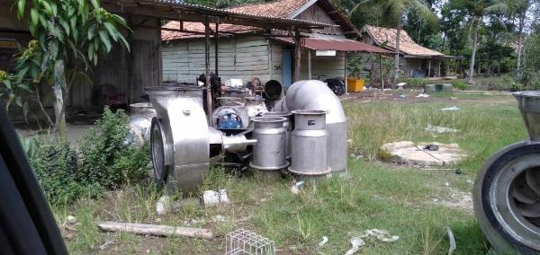 Diduga Pompa Air Lahan Pertanian Desa Bintaran Belum Terpasang