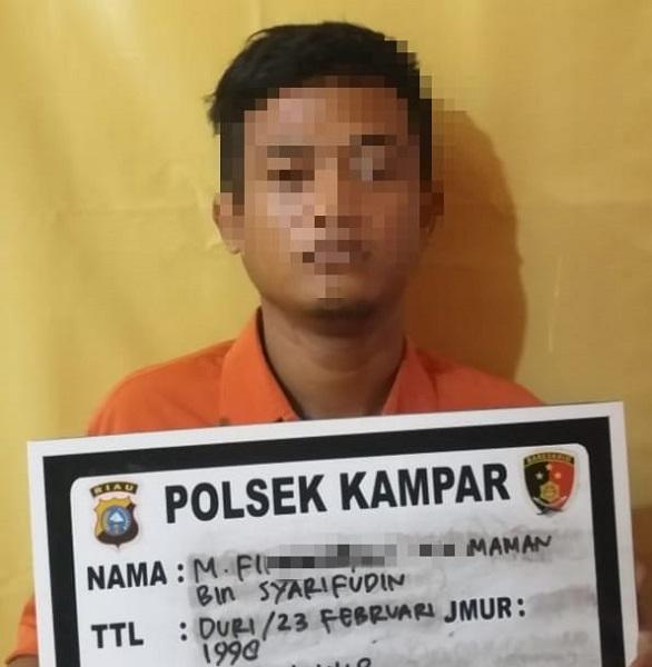 Pelaku Curanmor di Kampar Diamankan Unit Reskrim Polsek Kampar di Pekanbaru