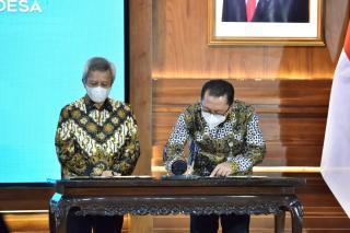 Kemendes Gandeng OJK Kembangkan LKD Selamatkan Dana Rp12,7T