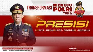 Gagasan Jenderal Listyo Polri PRESISI, Saatnya Masyarakat Adukan Boroknya Oknum Polisi