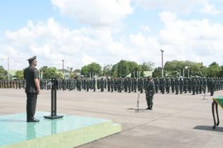 Kodam II/Sriwijaya Buka Pendidikan 440 Calon Prajurit Bintara