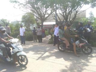 PPKM Mikro Serbu Polda Sumsel Juga Dilaksanakan di Sematang Borang