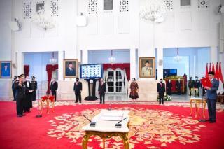 Presiden Lantik Listyo Sigit Prabowo Menjadi Kapolri