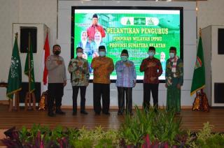 Kasdam II/Sriwijaya Hadiri Pelantikan PW IPPNU Provinsi Sumsel