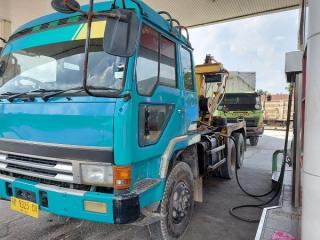 Sebuah Truk Derek Diduga Langsir BBM Subsidi Untuk Kebutuhan Industri Berhasil Diamankan Ditreskrimsus Polda Riau