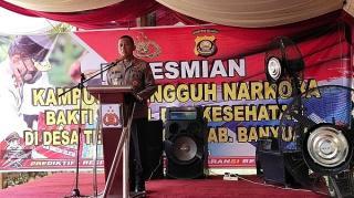 Kapolda Sumsel: Kampung Tangguh Narkoba Bukti Masyarakat Sadar Hukum