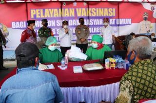 Agustiar Sabran: Vaksinasi Covid-19 Lansia Masih Jauh dari Target Pemda Kalimantan Tengah