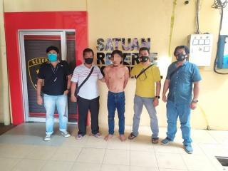 Buron 4 Bulan, Warga Rohul Cabuli Anak Tirinya Ditangkap di Sumut
