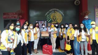 Keren, Lions Club Indonesia Sebar Makanan di Lapas Perempuan Pondok Bambu Jaktim