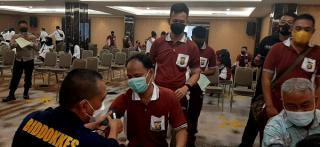 Cek Kondisi Kesehatan Personel, Biddokkes Polda Sumsel Gelar Pemeriksaan Kesehatan Berkala