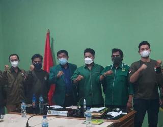Hari Pertama Jabat Ketua DPW PPP Jakarta, Haji Lulung Terima Kader-kader GMPI
