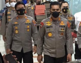 Kapolda Aceh Pimpin Penyerahkan Naskah Visi Misi Calon Kapolri ke Komisi III DPR RI