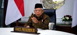 Berpotensi Besar, Wapres Optimis Indonesia Jadi Pemain Utama Keuangan Syariah