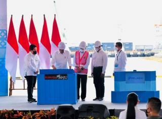 Presiden Joko Widodo Klaim Penggabungan BUMN Pelindo Bisa Tingkatkan Daya Saing
