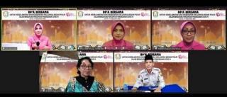 Peringati HKBP ke-69, Bhayangkari Sumsel Gelar Doa Bersama Virtual