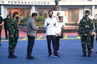 Presiden Tinjau Sejumlah Infrastruktur dan Vaksinasi Massal di Jawa Tengah