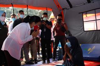 Kemen PPPA Bangun Pos Ramah Perempuan dan Anak Agar Pengungsi Aman dan Nyaman