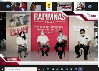 DPN Seknas Jokowi Gelar Rapimnas 2021