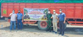 Lepas Ekspor Kopra Putih ke Myanmar, Ferryandi: Program UMKM Harus Didukung