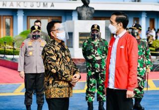 Presiden Joko Widodo Bertolak Ke Palembang untuk Resmikan Ruas Tol  Kayu Agung - Palembang