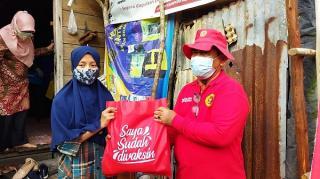 Selain di Pondok Pesantren, BIN Daerah Riau Juga Lakukan Vaksin Door to Door Masyarakat