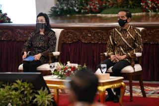Presiden Serahkan DIPA 2021, Menkeu Berpesan Pemerintah Harus Bekerja Lebih Cepat