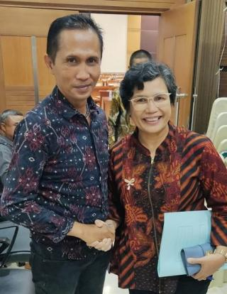 Aktivis 98 Simson Simanjuntak meminta KPK periksa Gubernur DKI Anis Baswedan terkait Dana Formula E DKI Jakarta