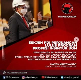PDI Perjuangan Ajak Insyinyur Indonesia Berdikari